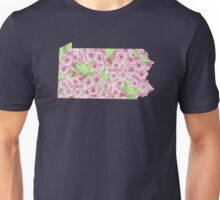 Pennsylvania Flowers Unisex T-Shirt