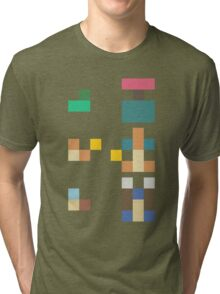 Pokemon Starters - Original Three (Minimalist) Tri-blend T-Shirt