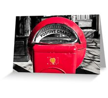 Positive Change Greeting Card