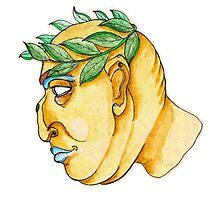 Fat Caesar by Intellopunk