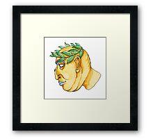 Fat Caesar Framed Print