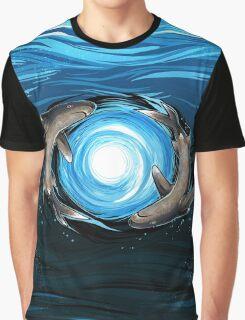 Shark Mandala Graphic T-Shirt