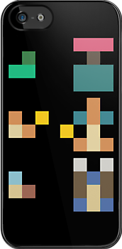 Pokemon Starters - Original Three (Minimalist) iPhone Case by ILKCMP