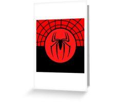 Spiderman Logo Symbol Greeting Card