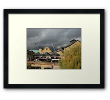 Camden's Hallowe'en storm Framed Print