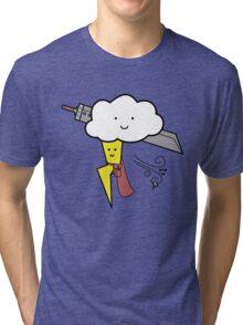 Weather Fantasy Tri-blend T-Shirt