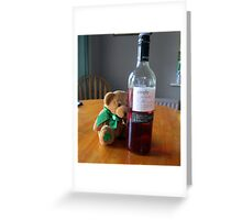 hiccup hiccup oh my head Greeting Card