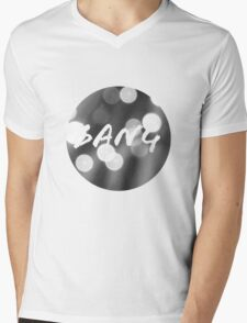 Bokeh Bang Mens V-Neck T-Shirt