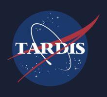 Tardis Nasa Logo by Nathan Kusche