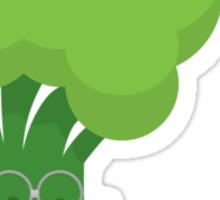 Broccoli student Sticker
