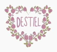 Destiel Heart by BethTheKilljoy
