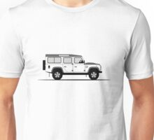 Land Rover Defender 110 Station Wagon Fire and Ice Edition Unisex T-Shirt
