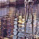 The Stilt Man by George Hunter