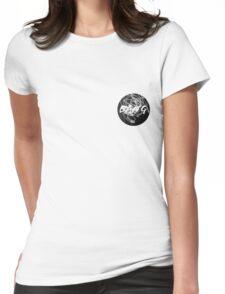Light Drawing Pocket Bang Womens Fitted T-Shirt