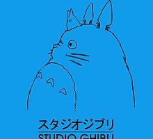 Studio Ghibli Totoro Case by Zotheculs