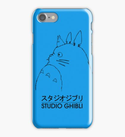 Studio Ghibli Totoro Case iPhone Case/Skin