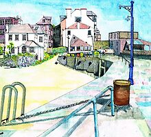 St Ives Harbour and Quay by doatley
