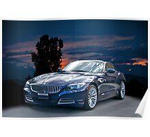 2013 BMW Z4 Poster