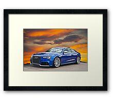 2013 Audi RS5 Framed Print