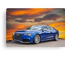 2013 Audi RS5 Canvas Print