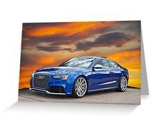 2013 Audi RS5 Greeting Card