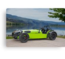 Lotus 'Dirkin Super 7' Canvas Print