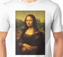 Mona Lisa HD Unisex T-Shirt