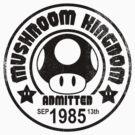 Mushroom Tourist by OrangeRakoon