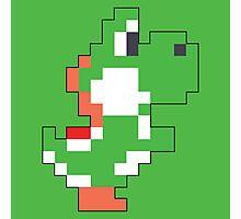 Super Mario Maker - Yoshi Costume Sprite Photographic Print