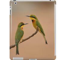 Little bee eaters iPad Case/Skin