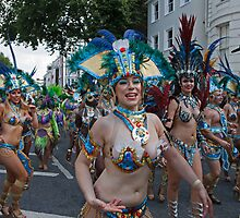 Notting Hill Carnival  London by Keith Larby