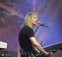 Bon Jovi at Hyde Park - David Bryan by WalkerboyUK