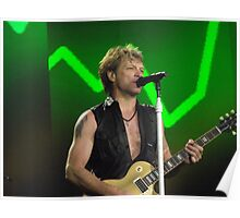 Bon Jovi at Hyde Park 3 Poster
