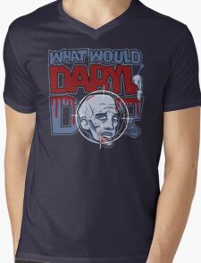 What Would Daryl Do? (PG version) Mens V-Neck T-Shirt