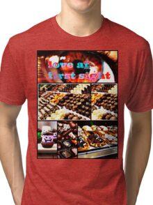 love at first sight Tri-blend T-Shirt