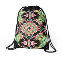 Green printed designer Drawstring Bag Drawstring Bag