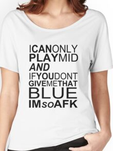 I'm So AFK Women's Relaxed Fit T-Shirt