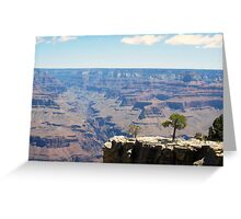 Canyon Ravine Greeting Card