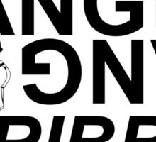 BANG SCRIBBLE Sticker