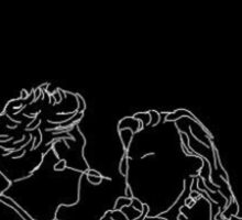 Harry Styles and Niall Horan Art Sticker
