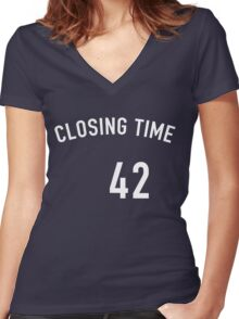 Mariano Closing Time Women's Fitted V-Neck T-Shirt