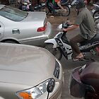 Phnom Penh traffic by Glen O'Malley