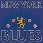 the new york blues. by bogartdesigns