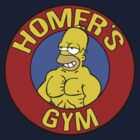 Homer's Gym by janeemanoo