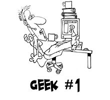 Geek no.1 Photographic Print