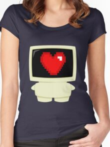 Computer Loves You Women's Fitted Scoop T-Shirt