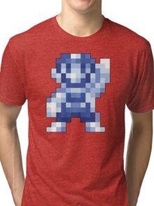 Super Mario Maker - Silver Mario Costume Sprite Tri-blend T-Shirt