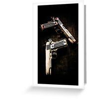 Guns Greeting Card