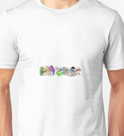 Nuclear Throne - Fish - Cartoon Characters - HIGH QUALITY Unisex T-Shirt
