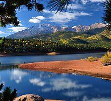 Beautiful Pikes Peak At Crystal by pilgrims492003